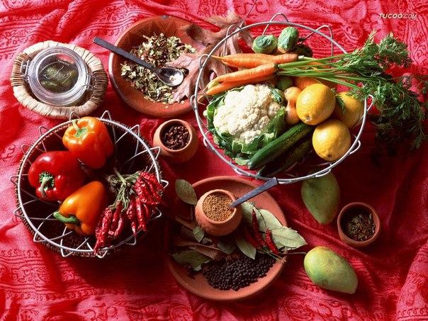 Аюрведические секреты питания