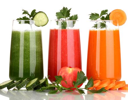 Овощные соки — сплошная польза!