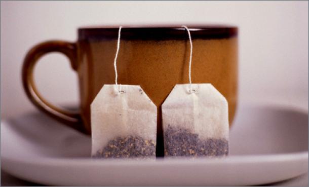 О вреде чая в пакетиках