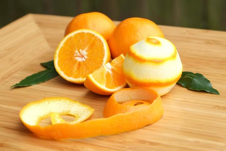 Чем полезна цедра апельсина