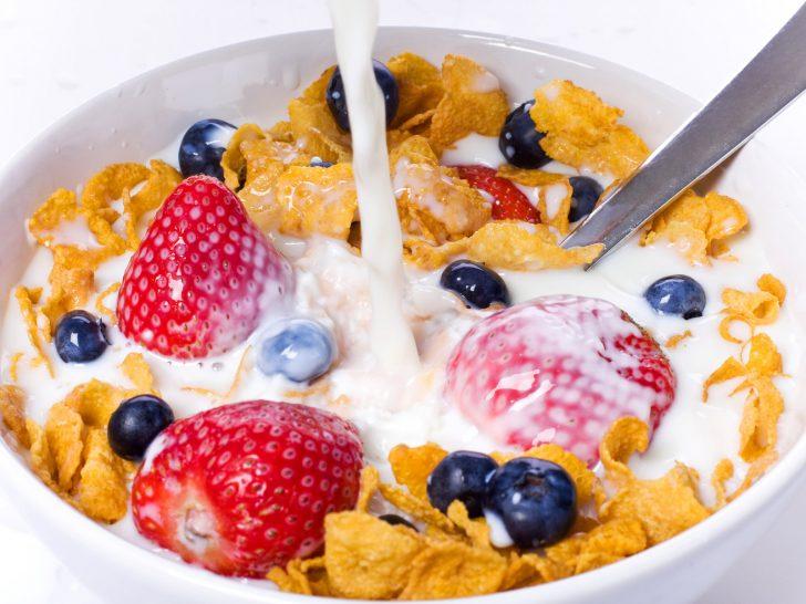 Завтрак во время диеты