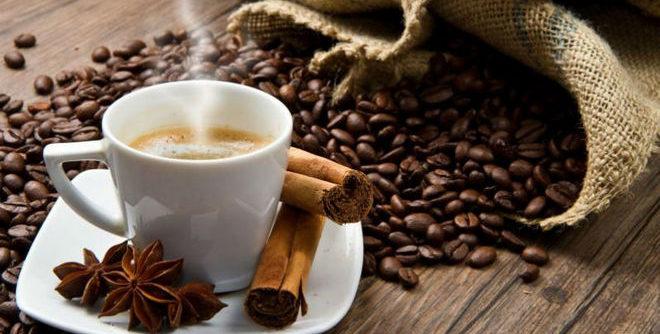 Чашка ароматного кофе
